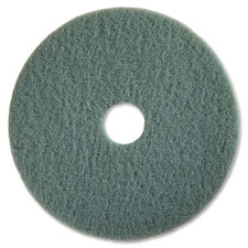 "High-speed floor pads, 20"", 5/ct, aqua, sold as 1 carton, 5 each per carton"
