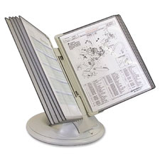 "Tarifold orbital reference display, 10""x16""x7"", gray, sold as 1 each"