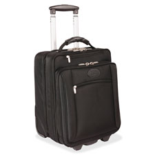 "Business case on wheels, 11""x14""x18"", black, sold as 1 each"