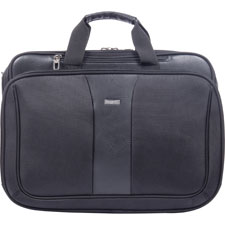 "Executive briefcase, 8""x18""x13"", black, sold as 1 each"
