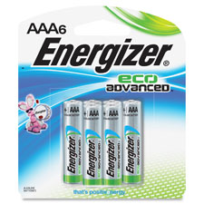 Eco-advanced aaa-6 batteries, 24/pk, shadow gray, sold as 1 package, 4 each per package