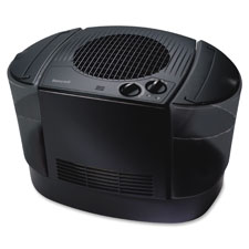 "Top-fill console humidfier, 14""x15-1/2""x22"", black, sold as 1 each"