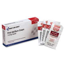 First aid burn cream ointment, 1gram, 100/bx, sold as 1 box, 50 each per box