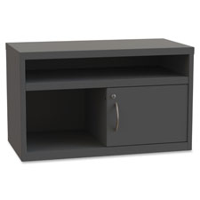 "Sliding door credenza, 36""x18-3/4""x21-7/8"", charcoal, sold as 1 each"
