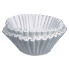 Paper filters, 8/10 cup brewers/home modesl, 21/ct, we, sold as 1 carton