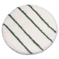 """Carbet bonnet, w/scrub strips, low profile, 21"""" dia, white, sold as 1 each"""