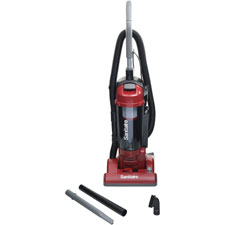 "Upright vacuum, bagless, hepa, 3.5 qt, 42.5""x13""x12.5"", red, sold as 1 each"
