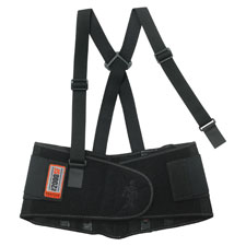 High-performance back support, black, sold as 1 each