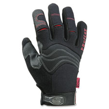Cut resistant pvc gloves, large, 1/pr, black, sold as 1 pair, 2 each per pair