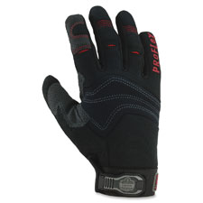 Pvc handler gloves, medium, 1/pr, black, sold as 1 pair, 2 each per pair