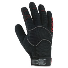 Utility gloves, large, 1/pr, black, sold as 1 pair, 2 each per pair
