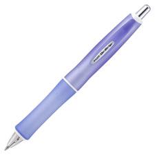 Retract gel pen, 1.0mm, frosted purple barrel/bk ink, sold as 1 package