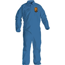 Kleenguard a20 coveralls lg, 25/ct, blue, sold as 1 carton