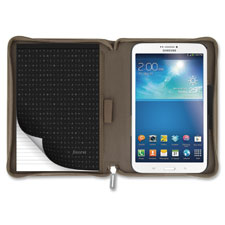 3.8 microfiber tablet case, tan, sold as 1 each