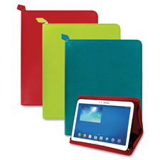 Saffiano 10.1 tablet/galaxy case, green, sold as 1 each