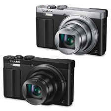 Lumix 30x travel zoom digital cameral, silver/black, sold as 1 each