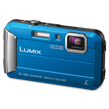 Lifestyle touch camera, digital, waterproof, blue, sold as 1 each, 12 bag per each