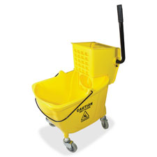"Bucket/wringer combo sidepress, 16""x14""x21"", yellow, sold as 1 each, 4 each per each"