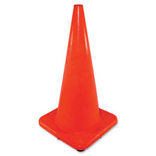 "Safety cone, 28"", orange, sold as 1 each"