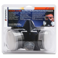 Premier ov/n95 half mask respirator, large, gray, sold as 1 each