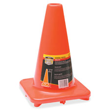 "Traffic cone, 12"", orange, sold as 1 each"