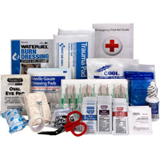 Ansi a 25 person refill, 89 pieces, white, sold as 1 each