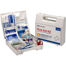Ansi first aid kit, vehicle/worksite, 141 pcs, we, sold as 1 each