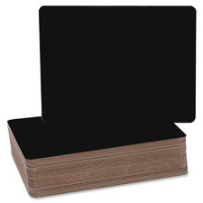 "Chalboard, 9-1/2""x12"", 24/pk, black, sold as 1 package, 24 each per package"