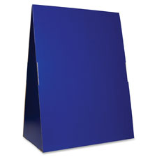 "Spiral-bound flip chart stand, 24""x33""x14"", blue, sold as 1 each, 24 each per each"
