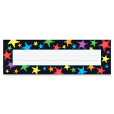 "Name plate, 9-1/2""wx2-7/8""h, 36 ea/pk, mi, sold as 1 package, 36 each per package"
