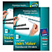 Avery 16062 Translucent Index Dividers, Label Sht, 5-Tab, Unpchd, 5set/PK, CL, AVE16062, AVE 16062