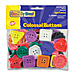 Chenille Kraft 6090 Plastic Craft Buttons, Assorted Colors/Sizes, CKC6090, CKC 6090