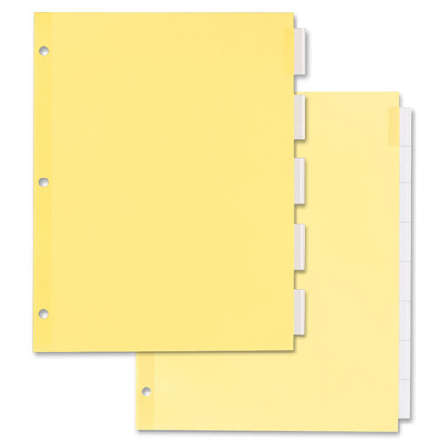 Ave11466 Averyindexesinsertable Tabseconomical Dividers 5 Tab 8