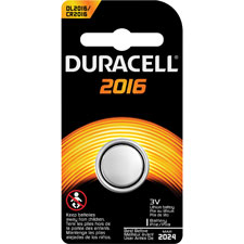 DURACELL DUR DL2016BPK, DURDL2016BPK