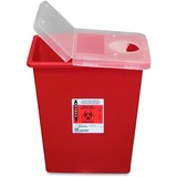 CONTAINER;SHARPS;W/LID;8GAL