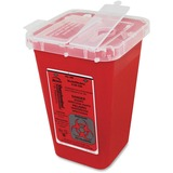 CONTAINER;SHARPS;1QT;RED