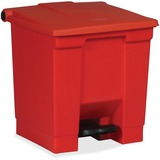 RECEPTACLE;8-GALLON;RED
