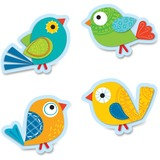 BOHO BIRDS;COLORFUL CUTOUTS