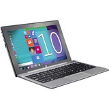 """SC-1022KB - Supersonic SC-1022KB 10.1"""" 2 in 1 Notebook - Intel Atom Z3735G Quad-core (4 Core) 1.33 GHz - 1 GB - Windows 10 - 1280 x 800 - In-plane Switching (IPS) Technology - Hybrid"""