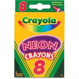 CRAYONS;NEON;8CT;AST