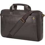 """P6N24AA - HP Executive Carrying Case (Briefcase) for 17.3"""" Notebook - Brown"""