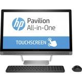 "V8P39AA#ABA - HP Pavilion 24-b000 24-b011 All-in-One Computer - Intel Core i5 (6th Gen) i5-6400T 2.20 GHz - 8 GB DDR4 SDRAM - 1 TB HDD - 23.8"" 1920 x 1080 Touchscreen Display - Windows 10 Home 64-bit - Desktop"