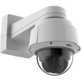 HDTV 1080p compliant, high-speed PTZ dome camera with 32x optical zoom for outdoor use. HDTV 1080p at 30 fps, 720P at 60fps. Continuous 360X rotation and 220X tilt with E-flip. Day and Night, IP52, Zipstream, Shock detection, autotracking, tour recording and Active Gatekeeper. Basic built-in analytics: object removed, fence detector, object counter, enter exit detection, video motion detection