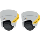 Day and night, full HD mini dome with flat-faced design for indoor use. Built-in IR illumination and WDR - Forensic Capture. Fixed lens. HDTV 1080p resolution at 30 fps. Zipstream technology for reduced bandwidth and storage needs. Memory card slot for optional local video storage. Video motion detection. Power over Ethernet.