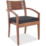 CHAIR;GUEST;WOOD;WAL/BLK