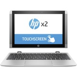 """X7U40UA#ABA - HP x2 10-p000 10-p020nr 10.1"""" Touchscreen (In-plane Switching (IPS) Technology, BrightView) 2 in 1 Netbook - Intel Atom x5 x5-Z8350 Quad-core (4 Core) 1.44 GHz - Hybrid"""