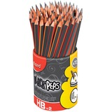 Triangular No.2 Pencils Hb Lead, 72/Pk, Bkyw