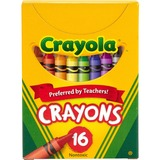 CRAYONS;TUCK BOX;16 CT