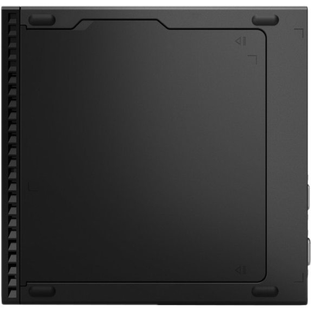 Lenovo ThinkCentre M70q 11DT0021US Desktop Computer - Intel Core i5 10th Gen i5-10400T Hexa-core (6 Core) 2 GHz - 16 GB RAM DDR4 SDRAM - 256 GB SSD - Tiny - Raven Black