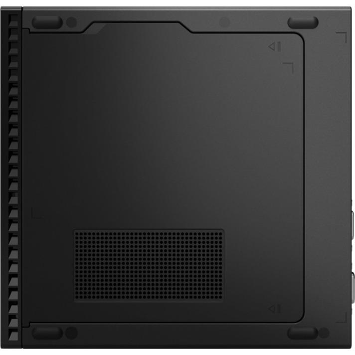 Lenovo ThinkCentre M90q 11CR001YUS Desktop Computer - Intel Core i5 10th Gen i5-10500 Hexa-core (6 Core) 3.10 GHz - 8 GB RAM DDR4 SDRAM - 256 GB SSD - Tiny - Black